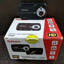Видеорегистраторы - Видеорегистратор Rekam F100, 0