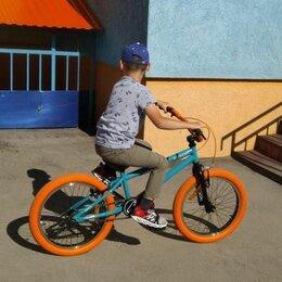 """Прочие аксессуары и запчасти - Велосипед TechTeam Goof 20"""" бирюзово-оранжевый, 0"""