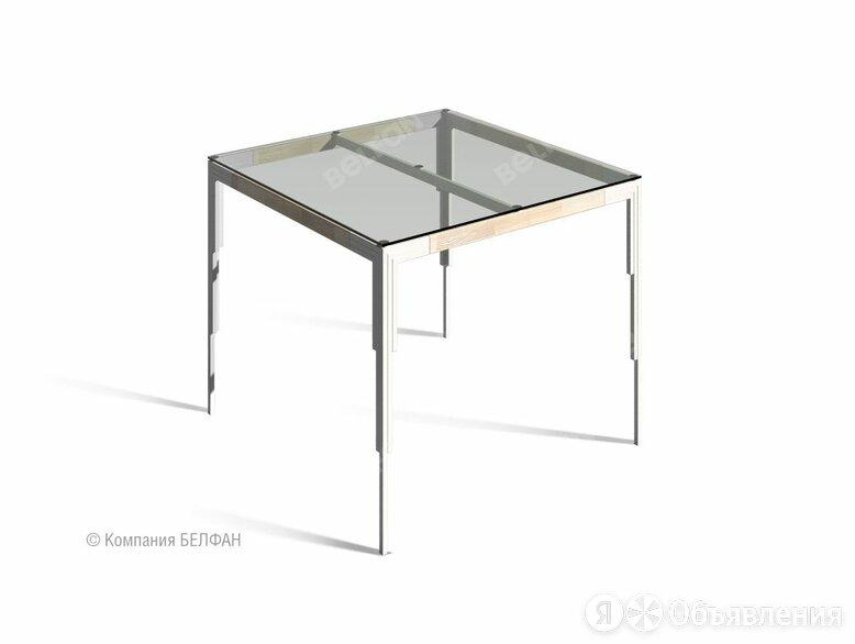 """Стол обеденный квадратный """"Art Collection"""" 90 (стекло); нераскл.; белёный дуб... по цене 68560₽ - Столы и столики, фото 0"""