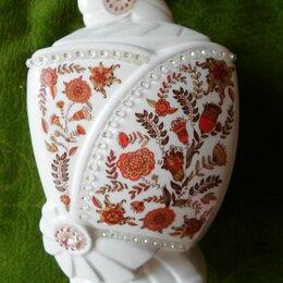 Посуда - Фарфоровая вазочка под чай, кофе, сахар, 0