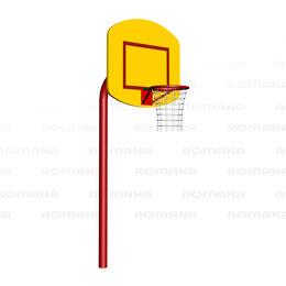Стойки и кольца - Баскетбольные щиты ROMANA Баскетбольный щит (малый) Romana 203.12.01, 0