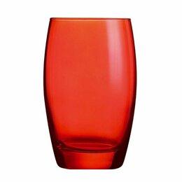 Конный спорт - Хайбол «Сальто Колор Рэд» стекло; 350мл; D=76,H=121мм; ARC, 0