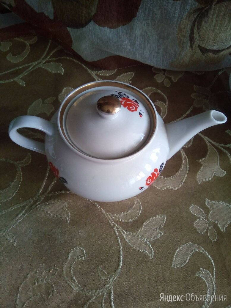 Заварочный чайник  Пролетарий фарфоровый завод по цене 350₽ - Заварочные чайники, фото 0
