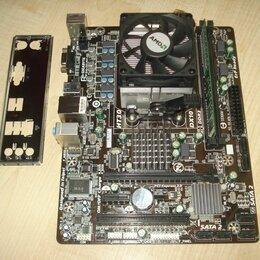 Материнские платы - Комплект 6 ядер, 8Гб DDR3 (s-AM3+), 0
