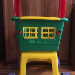 Игрушечная мебель и бытовая техника - Тележка для детей. Детские игрушки , 0