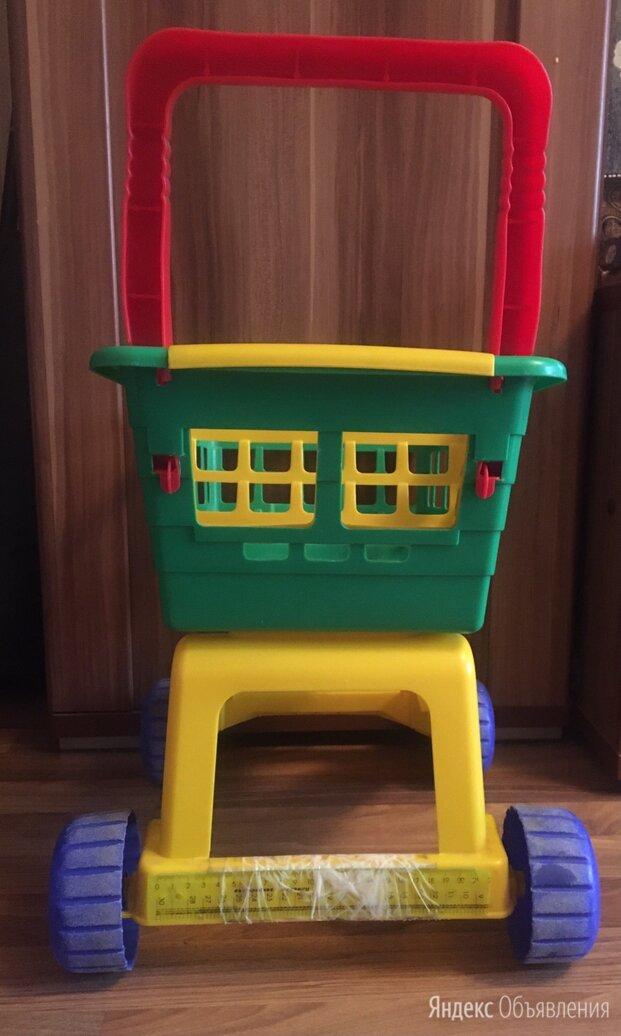 Тележка для детей. Детские игрушки  по цене 200₽ - Игрушечная мебель и бытовая техника, фото 0