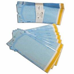 Расходные материалы - Пакеты комбинированные самоклеящиеся «СтериТ» 100*200мм (100 шт), 0
