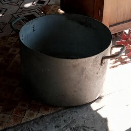 Кастрюли и ковши - Алюминиевый бак-кастрюля 50 литров, 0