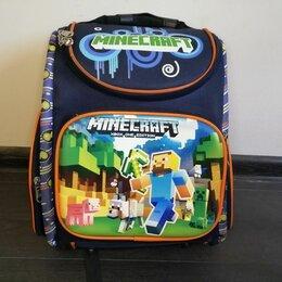 Рюкзаки, ранцы, сумки - Школьный рюкзак майнкрафт ортопедический, 0