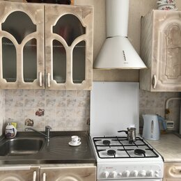 Мебель для кухни - Кухонный гарнитур и плита газовая, 0
