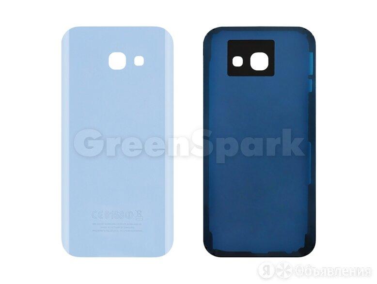 Задняя крышка для Samsung A520 Galaxy A5 (2017) (голубой) по цене 180₽ - Корпусные детали, фото 0
