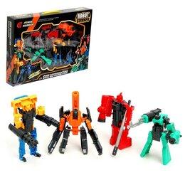 Роботы и трансформеры - Набор трансформеров «Арсенал», 4 штуки, 0