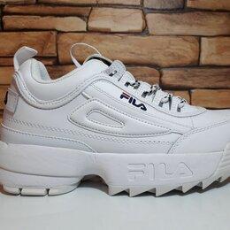 Кроссовки и кеды - Зимние кроссовки fila white, 0