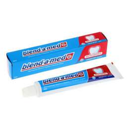 "Зубная паста - Зубная паста ""Бленд-а-мед"" анти кариес свежесть 50мл, 0"