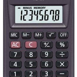 Калькуляторы - CASIO Калькулятор CASIO HL-4A, 8-разрядный, 0
