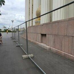 Заборы, ворота и элементы - Секция временного ограждения 3500х2000мм, 0