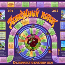 Настольные игры - Игра денежный поток, 0