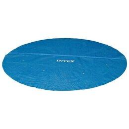 Тенты и подстилки - Тент для бассейнов Easy Set и Metal Frame, d=488 см, 29024 INTEX, 0