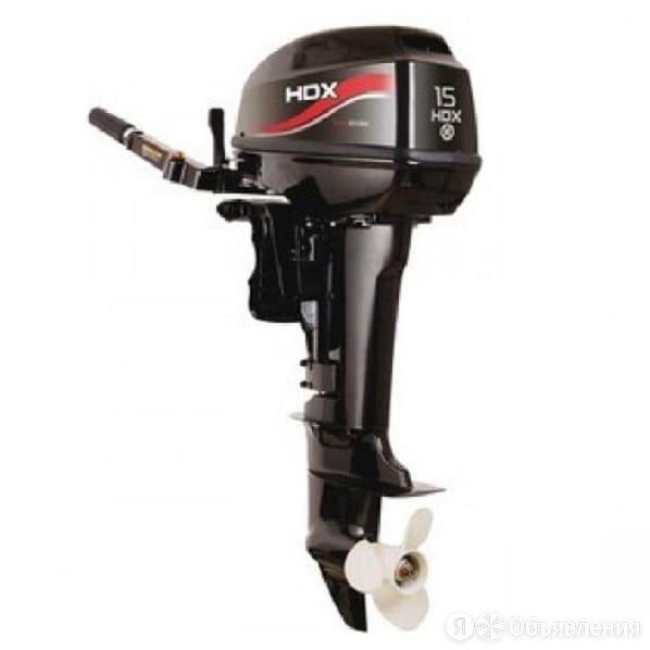 2х-тактный лодочный мотор HDX T 15 BMS оформим как 9.9 по цене 84900₽ - Двигатель и комплектующие , фото 0