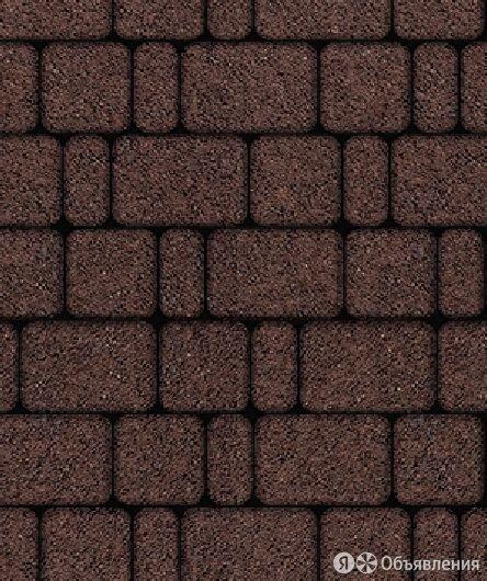 Тротуарная плитка Выбор Классико Гранит 60 мм 3 камня Коричневая по цене 1594₽ - Тротуарная плитка, бордюр, фото 0