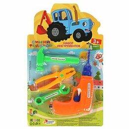 Детские наборы инструментов - 312970   Набор инструментов «Синий трактор» ТМ «ИГРАЕМ ВМЕСТЕ» в кор.2*120шт, 0
