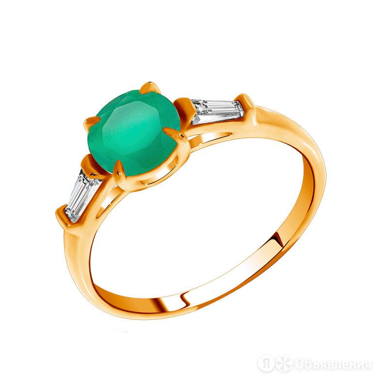 1100390284-60 Кольцо (Au 585) (16.5) KRASNOE по цене 16426₽ - Кольца и перстни, фото 0