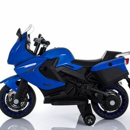 Велосипеды - Электромотоцикл TB800 синий акб 6V7Ah, 0