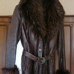 Куртки - Куртка женская,  кожа натуральная , Турция , 0