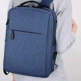 Рюкзаки - Квадратный рюкзак для ноутбука мужской, 0