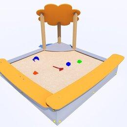 Песочницы -  детская песочница с защитой «Ромашка», 0