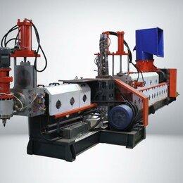 Производственно-техническое оборудование - Гранулятор для пленки с пласткомпакором и в/к резкой, 0