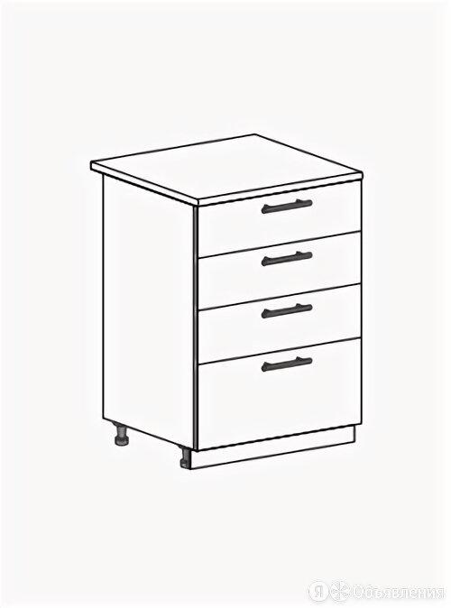 Шкаф нижний ШН4Я 600 Юлия по цене 5050₽ - Мебель для кухни, фото 0