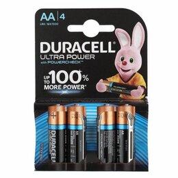 Батарейки - Батарейки Duracell LR6-4BL Ultra 4шт АА, 0