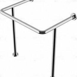 Раковины, пьедесталы - Поручень опорный для медицинской раковины, нержавеющая сталь 40мм. ШхГхВ: 750..., 0
