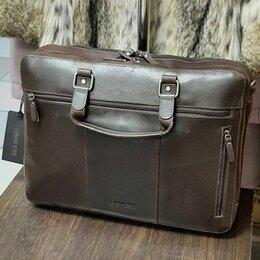 Портфели - Leonard Hayden Dacota кожаный портфель , 0