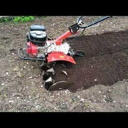 Прочие услуги - Вспашка земли мотоблоком, 0