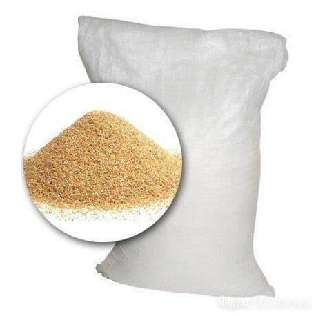 Песок кварцевый для бассейна (фр.0,5-1,0мм), 25 кг по цене 500₽ - Прочие аксессуары, фото 0