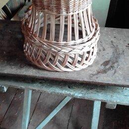 Люстры и потолочные светильники - Абажур из ивовои лозы, 0