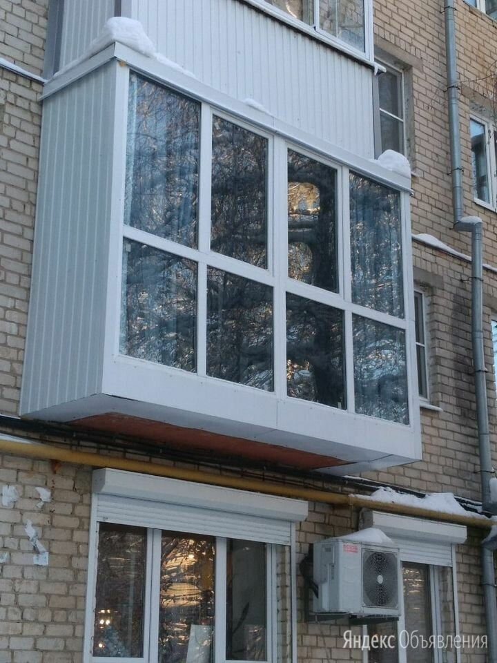 Балкон/Остекление под ключ по цене 30000₽ - Строительные смеси и сыпучие материалы, фото 0