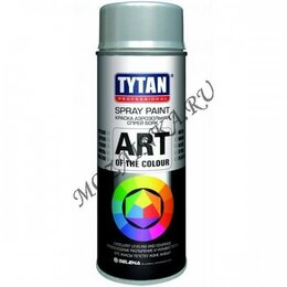 Аэрозольная краска - Tytan TYTAN PROFESSIONAL ART OF THE COLOUR краска аэрозольная, RAL7015, серая..., 0