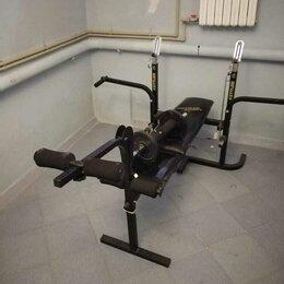 Другие тренажеры для силовых тренировок - Силовая скамья Kettler Primus 300 со стойкой для штанги, 0