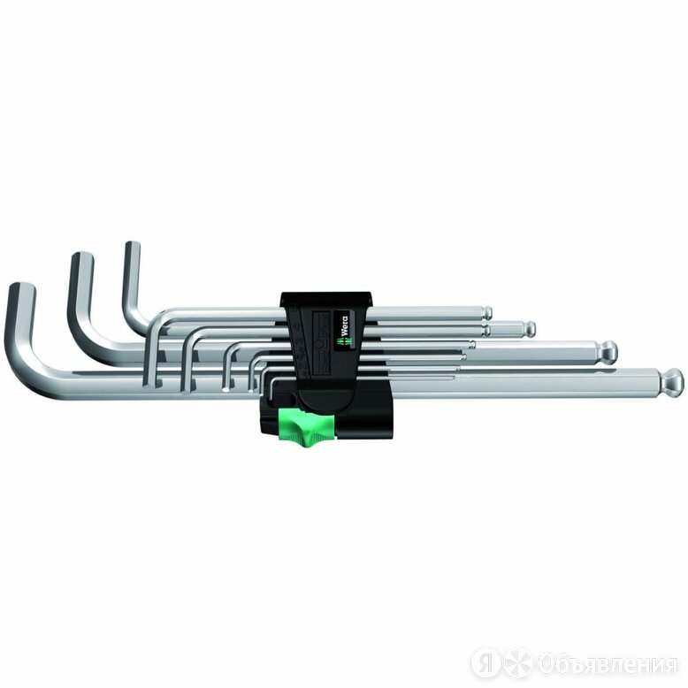 Набор ключей WERA WE-022087 по цене 1997₽ - Наборы инструментов и оснастки, фото 0