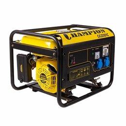 Электрогенераторы и станции - Генератор бензиновый Champion GG3301C (2,8/3,1кВт), 0