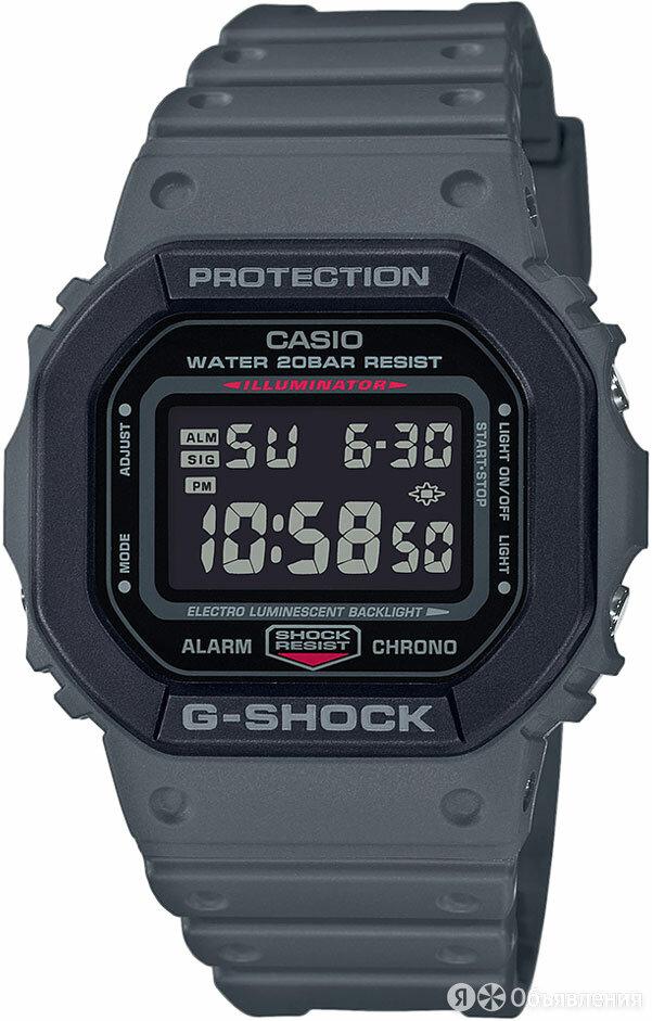Часы наручные Casio DW-5610SU-8ER по цене 12390₽ - Наручные часы, фото 0