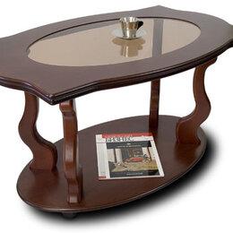 Столы и столики - Журнальный столик из массива дуба - Берже-3С, 0