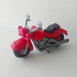 Машинки и техника - Мотоцикл гоночный Кросс 28см 6232 Полесье, 0