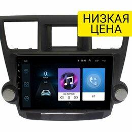Навесное оборудование - Штатная магнитола Toyota Highlander 2007 - 2013 Wide Media LC1167ON-1/16 для авт, 0