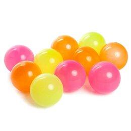 Прочие аксессуары - Шарики для сухого бассейна с рисунком «Флуоресцентные», диаметр шара 7,5 см, ..., 0