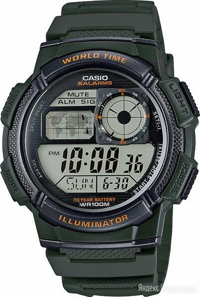Наручные часы Casio AE-1000W-3A по цене 2740₽ - Наручные часы, фото 0