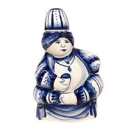 Подарочные наборы - Подарки на 23 февраля Гжельский фарфоровый завод Штоф Султан 0,7 л, 0